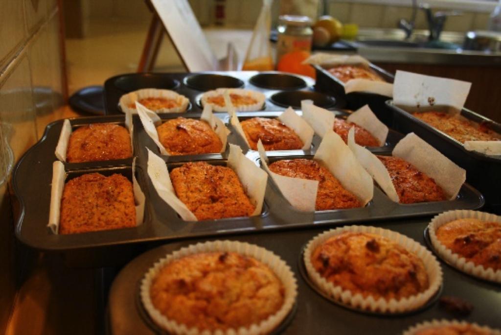 Almond Meal Orange Poppyseed Cake