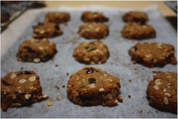 Recipe of the week: Coconut Flour & Oat Cookies!