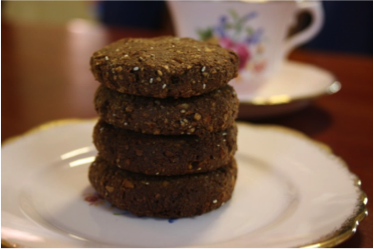Recipe of the week: Nutty Choc Chia Cookies