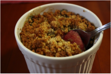 Recipe of the week: Apple Berry Crumble