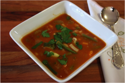 Recipe of the week: Not Quite Minestrone Soup