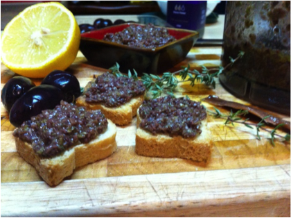Recipe of the week: Olive Tapenade