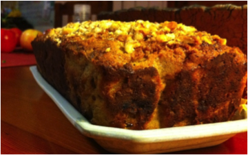 Recipe of the week: Apple Carrot Banana Loaf
