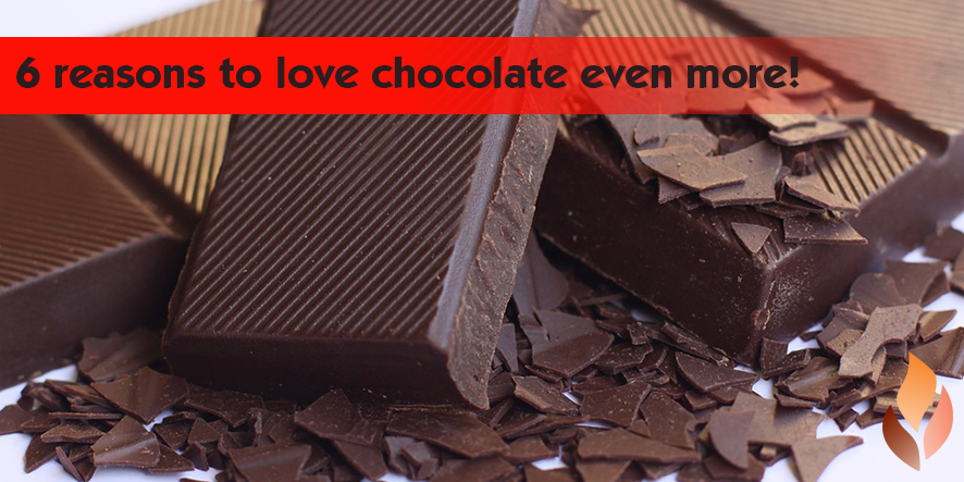 6 reasons to love chocolate even more!