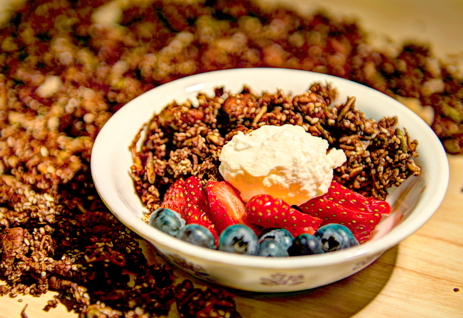 Recipe of the week: Cinnamon & Cacao Granola