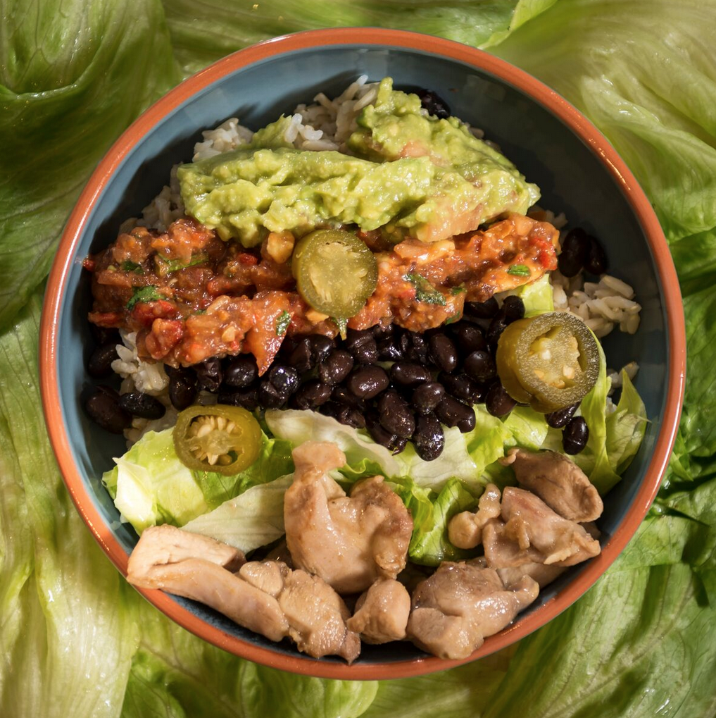 Recipe of the week: Burrito Bowl!
