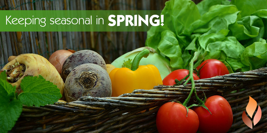 Keeping Seasonal in Spring