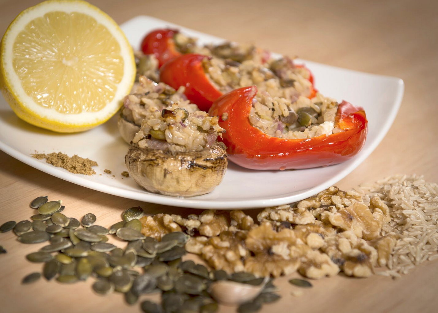 Recipe of the week: Stuffed Capsicums