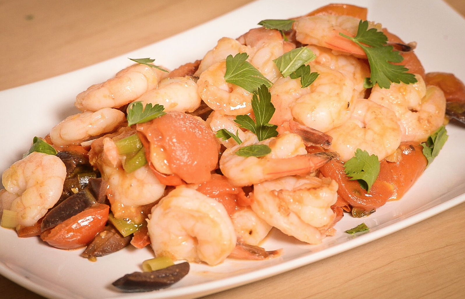 Recipe of the week: Mediterranean Prawns!