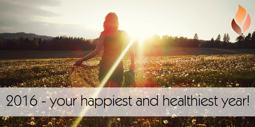 2016 - your happiest and healthiest year!