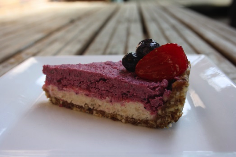 Recipe of the Week: Lemon, Berry & Macadamia Raw Cheesecake