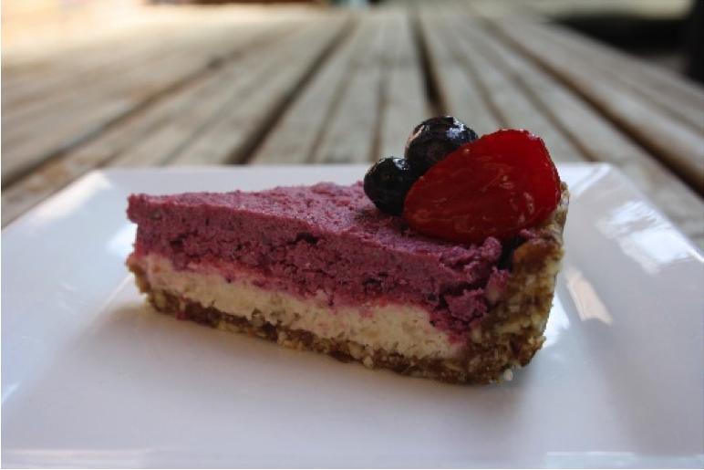 Recipe of the Week: Lemon, Berry & Macadamia Raw Cheesecake