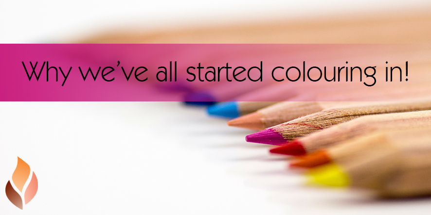 Why we've all started colouring in!