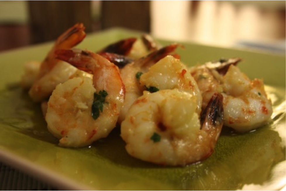 Recipe of the week: Garlic Prawns!