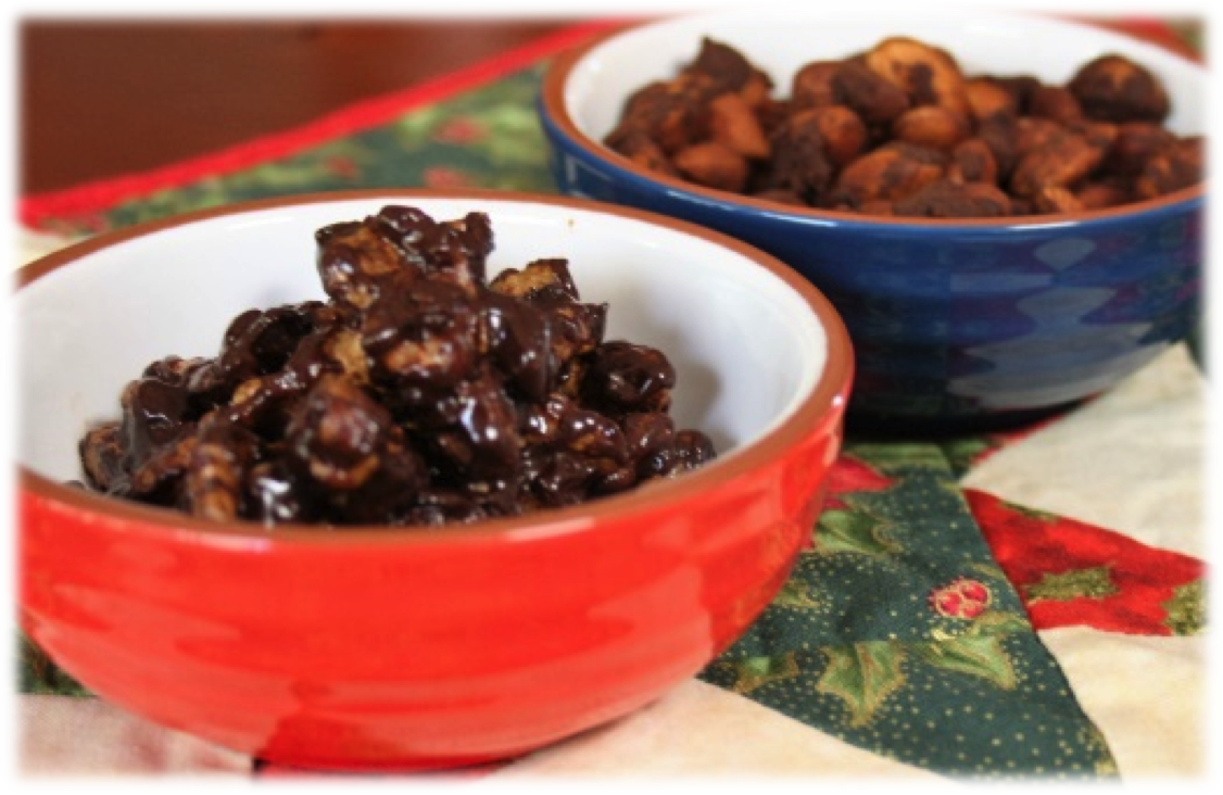 Recipe of the week: Spicy Cacao Almonds/Honey Spiced Walnuts