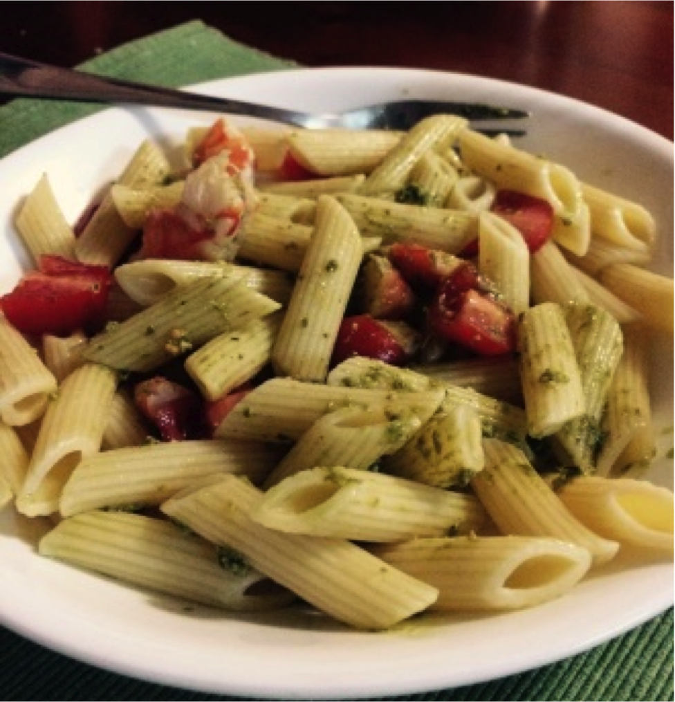 Recipe of the week: Pesto Prawn Penne