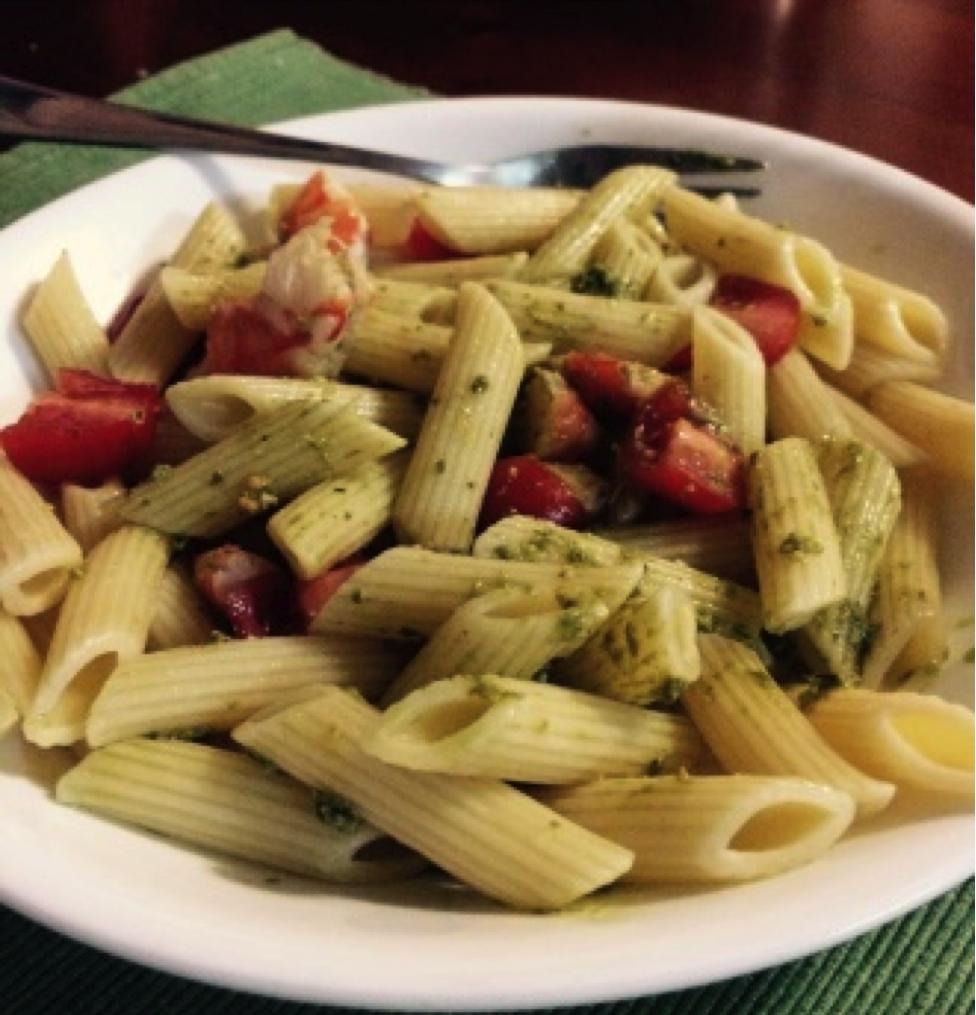Recipe of the week: Pesto Prawn Penne