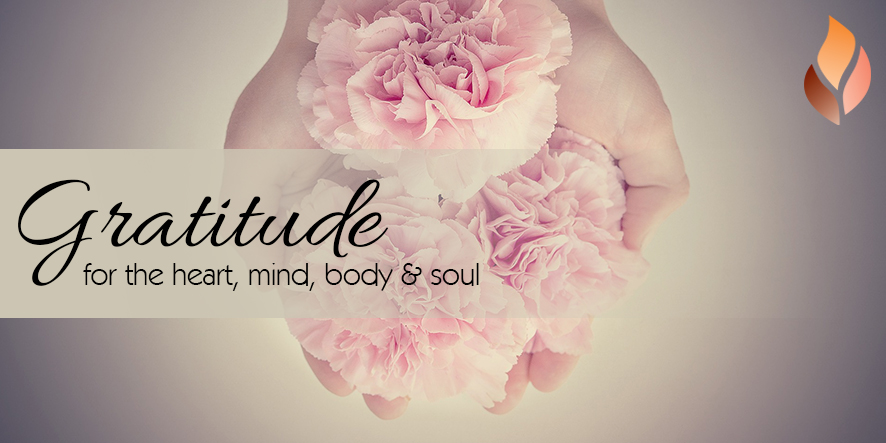 Gratitude for the heart, mind, body and soul
