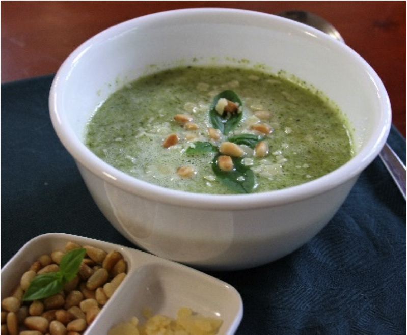 Recipe of the week: Basil & Broccoli Soup
