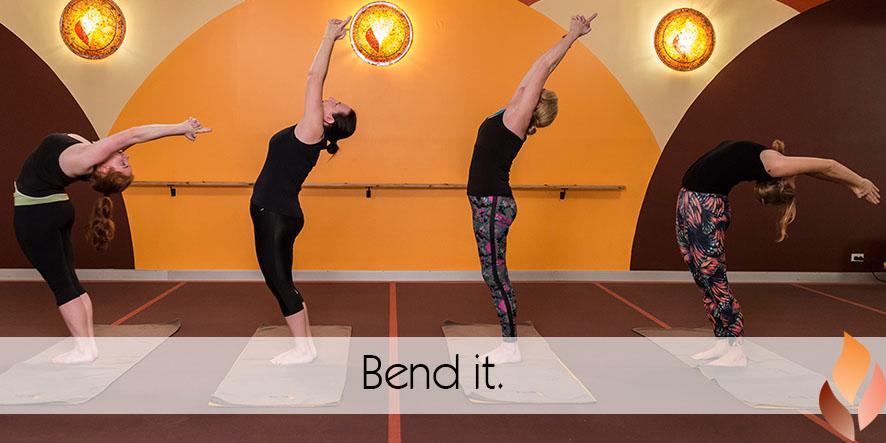 Bend it.