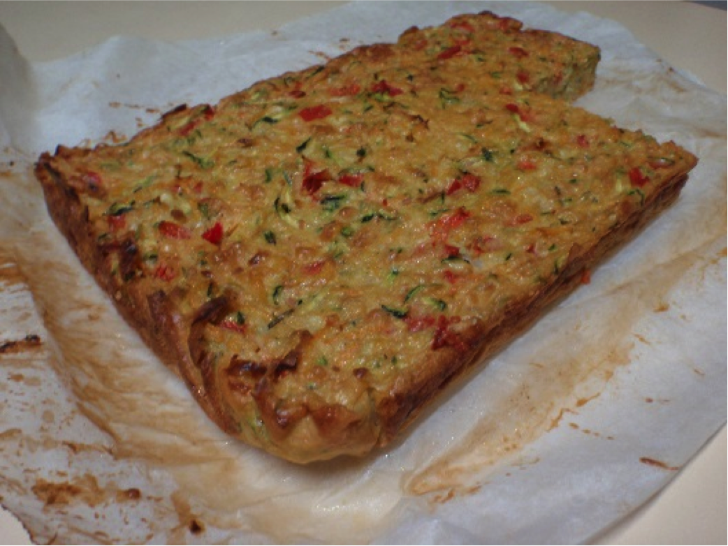 Recipe of the week: Zucchini Slice