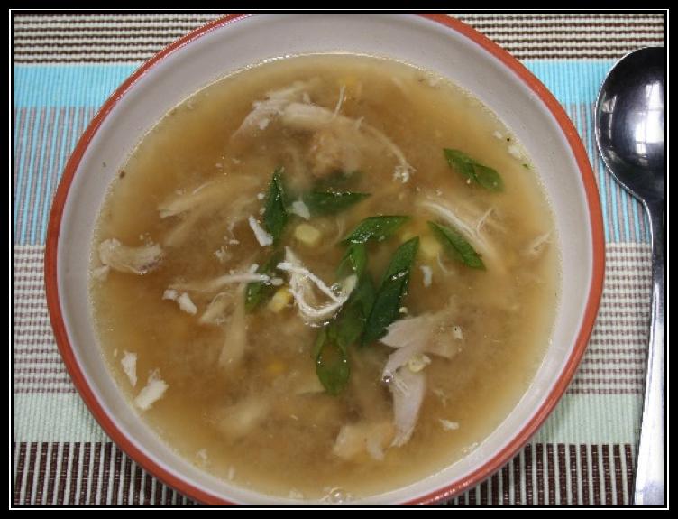 Recipe of the week: Chicken & Corn Soup