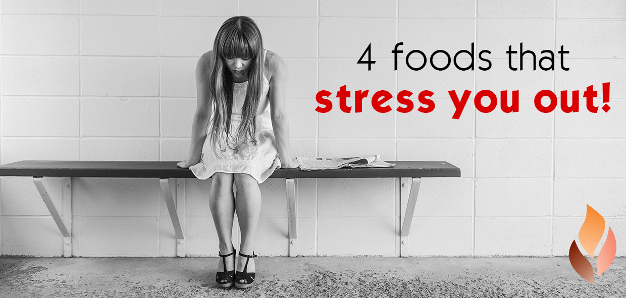 The 4 Foods That Actually Stress You Out + What To Eat Instead: A Doctor Explains