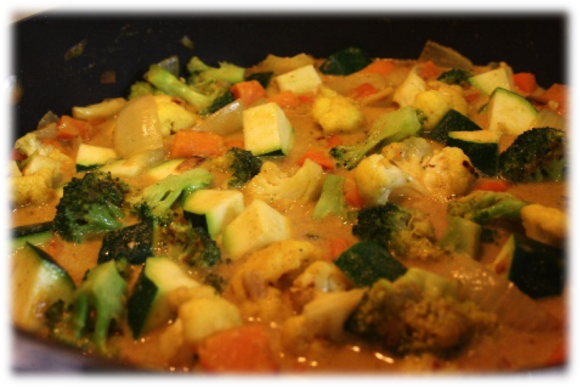 Recipe of the week: Quick Green Vegetable Curry