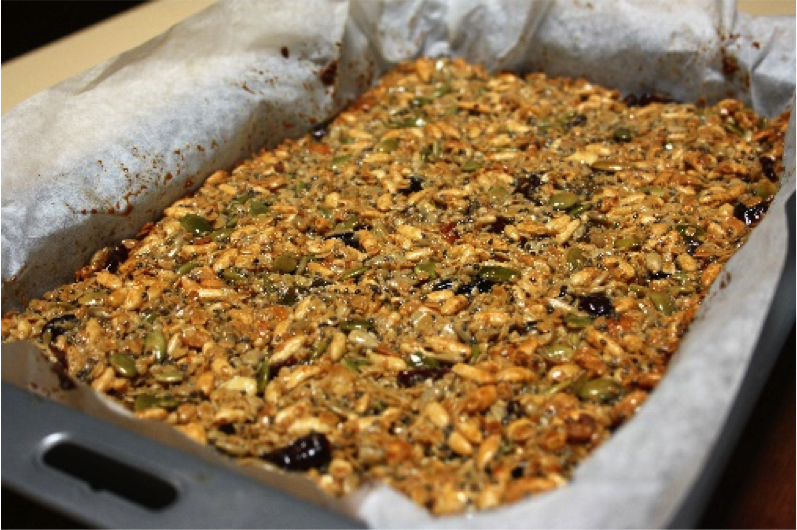 Recipe of the Week: Muesli Bars by Judy and Theresa