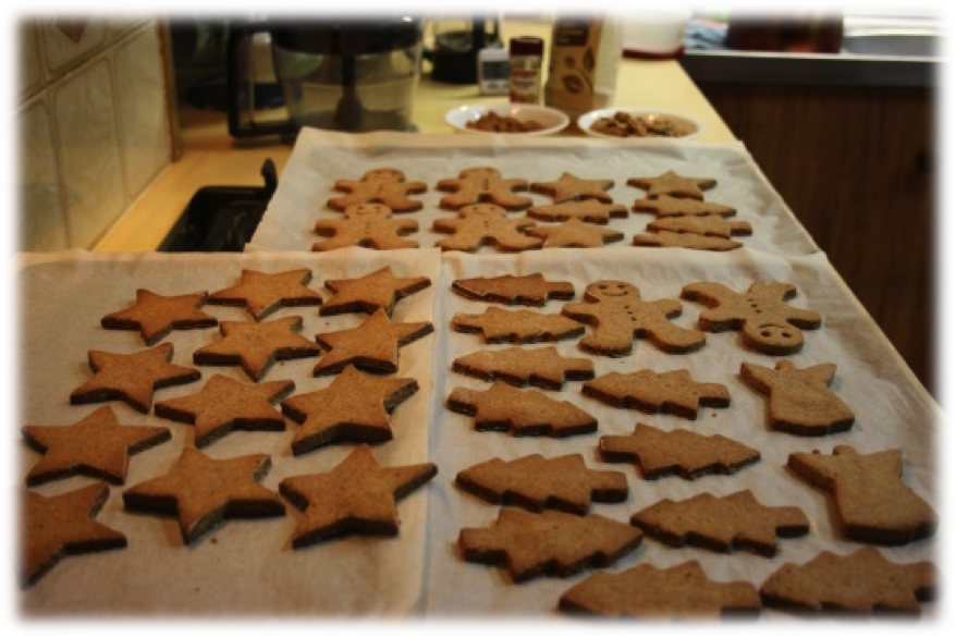 Recipe of the week: Gluten-Free Gingerbread Biscuits