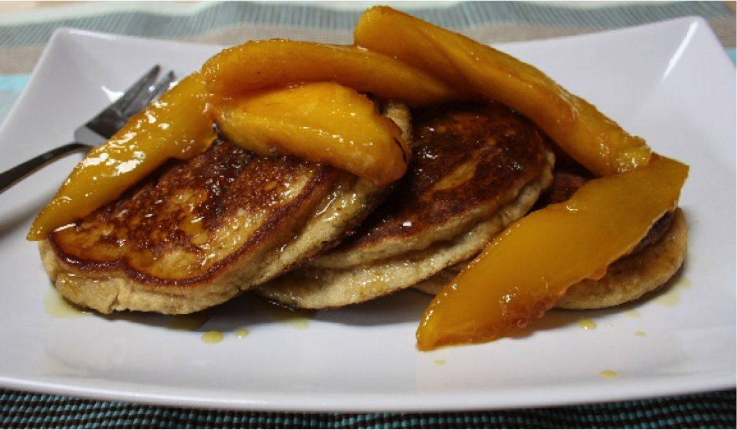 Recipe of the week: Mango Maple Pancakes